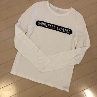 シャネル(CHANEL)のシャネル ロングTシャツ36(Tシャツ(長袖/七分))
