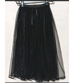franche lippee - snowチュールスカート