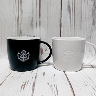 Starbucks Coffee - 新品 スターバックス ロゴマグ ロゴマグブラック スタバ  マグカップ マグ