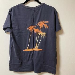 タトラス(TATRAS)の雑誌掲載tatras シーグリーン tシャツ  サイズ03 ネイビー(Tシャツ/カットソー(半袖/袖なし))