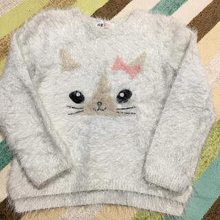 H&M - H&M ネコちゃんトップス