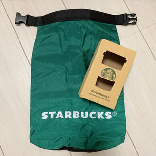 スターバックスコーヒー(Starbucks Coffee)の新品未使用 スターバックス ウォータープルーフバッグ スタバ バッグ 5L(ノベルティグッズ)