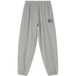 ステューシー(STUSSY)のNike x Stussy NRG BR Fleece Pant Gray S(ワークパンツ/カーゴパンツ)