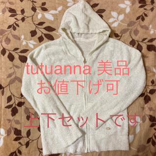 チュチュアンナ(tutuanna)のtutuanna チュチュアンナ 上下セット ルームウェア パジャマ ふわふわ(ルームウェア)