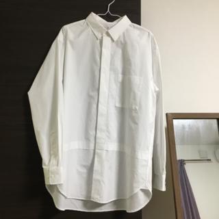UNIQLO - ユニクロジルサンダーコラボ レギュラーカラーオーバーシャツ