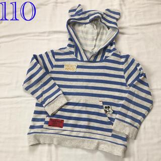 アカチャンホンポ(アカチャンホンポ)の110 赤ちゃん本舗 ディズニー 耳付きスウェットパーカー(Tシャツ/カットソー)