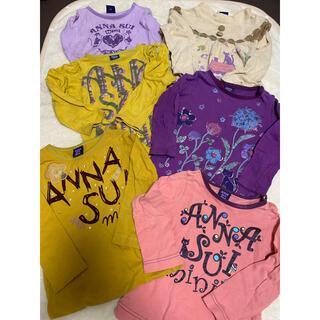 アナスイミニ(ANNA SUI mini)のアナスイミニ  6点セット ロンT トップス 90(Tシャツ/カットソー)