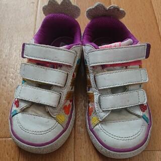 アディダス(adidas)のアディダス ディズニー adidas  disney キッズスニーカー 14.0(スニーカー)