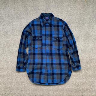 ペンドルトン(PENDLETON)の古着 ヴィンテージ PENDLETON ペンドルトン 70s ネルシャツ ウール(シャツ)