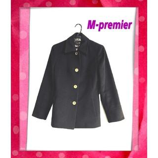 M-premier - M-premier エムプルミエ・カシミヤ混ウールコート