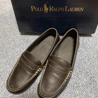 ポロラルフローレン(POLO RALPH LAUREN)のラルフローレン  ローファー ブラウン(ローファー/革靴)