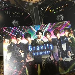 キスマイフットツー(Kis-My-Ft2)の【single】Gravity 初回限定盤A (ポップス/ロック(邦楽))