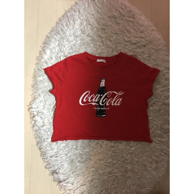 GYDA(ジェイダ)のGYDA Coca-Cola Tシャツ レディースのトップス(Tシャツ(半袖/袖なし))の商品写真