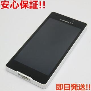エルジーエレクトロニクス(LG Electronics)の美品 L-02E モッツァレラホワイト 白ロム(スマートフォン本体)