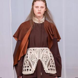 マメ(mame)のmame cording embroidery  skirt(ミニスカート)