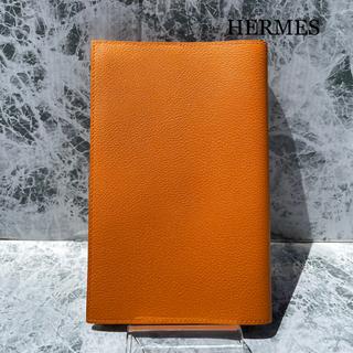 Hermes - 極美品 HERMES エルメス ノートカバー EAジップ PMC刻 オレンジ