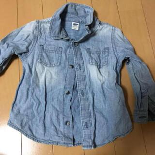オールドネイビー(Old Navy)のOLD NAVY ダンガリーシャツ 90cm(Tシャツ/カットソー)
