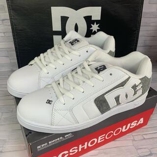 ディーシーシュー(DC SHOE)のDC shoe NET ホワイト 28.0cm(スニーカー)