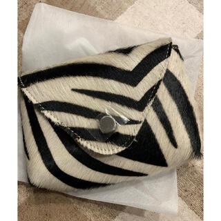 ビューティアンドユースユナイテッドアローズ(BEAUTY&YOUTH UNITED ARROWS)の☆新品・未使用☆chiiibag minibag zebra wide柄(ボディバッグ/ウエストポーチ)