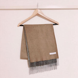 green label relaxing - GREEN LABEL RELAXING CASHMERE リバー マフラー