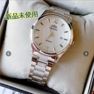 オリエント(ORIENT)の☆オリエント 腕時計☆ メンズ シルバー ビジネス プレゼント(腕時計(アナログ))