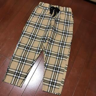 チェック ズボン 子供用 130センチ(パンツ/スパッツ)