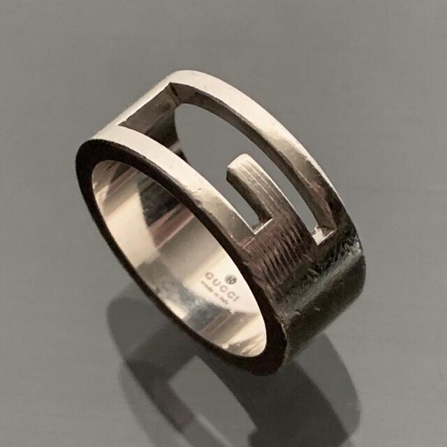 Gucci(グッチ)のグッチ ブランデッドG 指輪 リング 11.5~12号 AG925 レディースのアクセサリー(リング(指輪))の商品写真