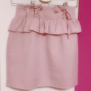 ロジータ(ROJITA)のペプラムスカート(ひざ丈スカート)