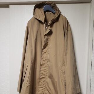 COMOLI - 18ss AURALEE finx polyester hooded coat4
