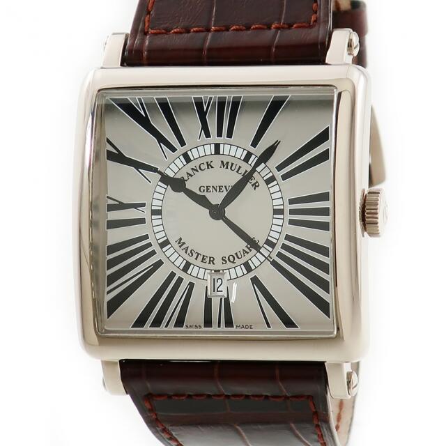 FRANCK MULLER(フランクミュラー)のフランクミュラー  マスタースクエア ミラー 6000KSCDT 自動巻 メンズの時計(腕時計(アナログ))の商品写真
