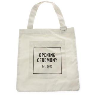 オープニングセレモニー(OPENING CEREMONY)のopening ceremony トートバッグ ホワイト(トートバッグ)