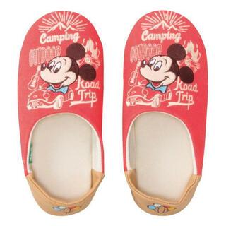ディズニー(Disney)のミッキーマウススリッパ(スリッパ/ルームシューズ)