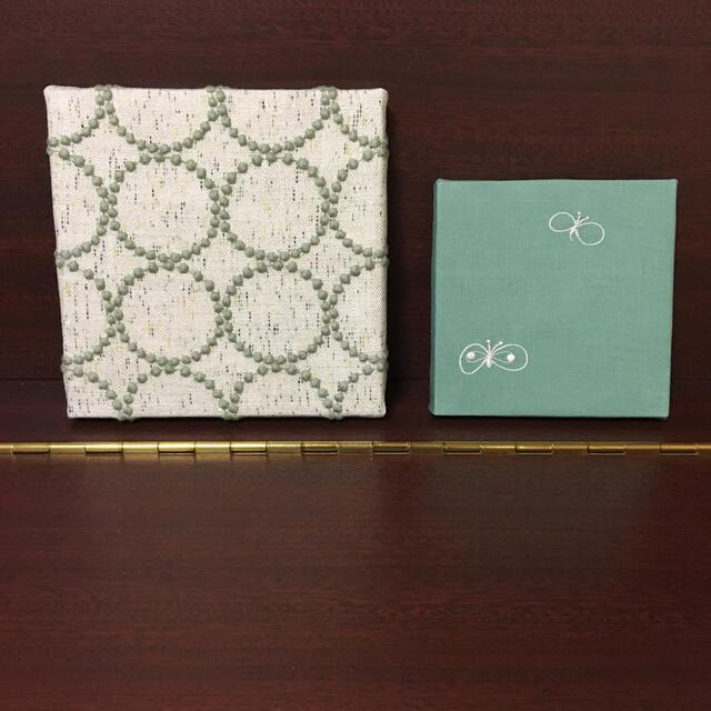 mina perhonen(ミナペルホネン)のミナペルホネン  ✿ ファブリックパネル 2枚組 ハンドメイドのインテリア/家具(インテリア雑貨)の商品写真