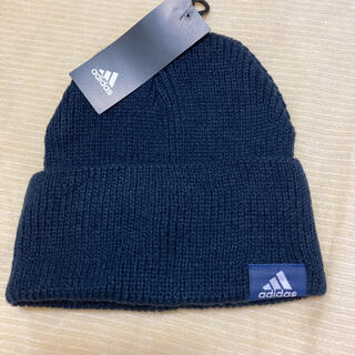 アディダス(adidas)のアディダスadidasニット帽⭐️新品⭐️(ニット帽/ビーニー)