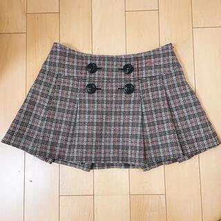 BURBERRY BLUE LABEL - 【美品】♡バーバリーブルーレーベル♡ボタン付きプリーツスカート♡