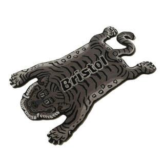 エフシーアールビー(F.C.R.B.)のBRISTOL TIGER RUG MAT BLACK (ラグ)