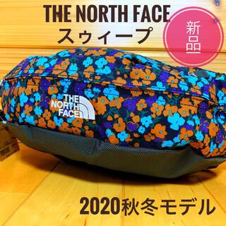 ザノースフェイス(THE NORTH FACE)の新品☆ノースフェイス スウィープ ネイビー レトロ フローラル(ボディバッグ/ウエストポーチ)