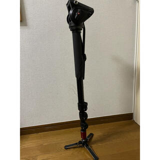 Manfrotto - Manfrotto MVM-500A 一脚 プロフルードビデオ一脚 雲台付