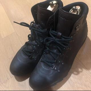 プラダ(PRADA)のプラダ ブーツ メンズ ブラウン 牛革 サイズ6(ブーツ)
