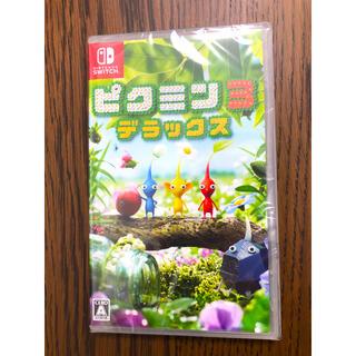 ニンテンドースイッチ(Nintendo Switch)の今日まで!新品未使用  ピクミン3 デラックス  Nintendo Switch(家庭用ゲームソフト)