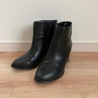 ロペピクニック(Rope' Picnic)のショートブーツ 黒 サイズ37 ロペピクニック(ブーツ)