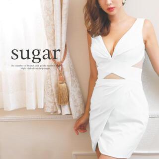 エンジェルアール(AngelR)のLip line ホワイトミニドレス(ナイトドレス)