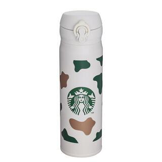 スターバックスコーヒー(Starbucks Coffee)の海外限定 スターバックス サーモス うし 2021  牛柄 魔法瓶 水筒(水筒)