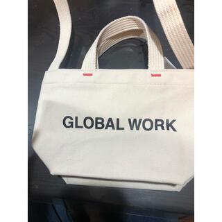 グローバルワーク(GLOBAL WORK)のGLOBAL WORK 2wayトートバッグ(トートバッグ)