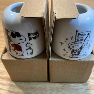 ピーナッツ(PEANUTS)の【新品】スヌーピー 歯ブラシ、ペンスタンド(日用品/生活雑貨)
