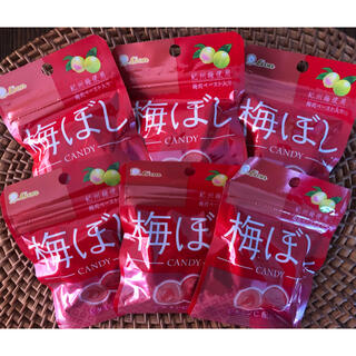 キャンディー 梅ぼし飴 6袋(菓子/デザート)