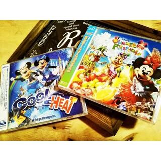 ディズニー(Disney)のCD【2枚セット】「ディズニー・サマーフェスティバル」「クール・ザ・ヒート!」(キッズ/ファミリー)
