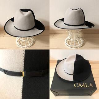 カシラ(CA4LA)の【未使用品】CA4LA カシラ ツートンカラー ハット(ハット)