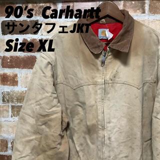 カーハート(carhartt)のCarhartt サンタフェJKT 90's 一点物 ダック生地 ベージュ XL(その他)