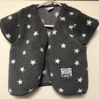 ニシマツヤ(西松屋)のベビー服 スリーパー アウター(パジャマ)